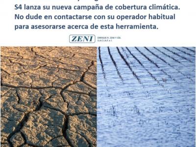 Ahora podés proteger tu cultivo de la sequía y la inundación
